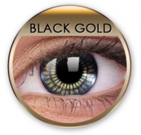Jewel - Black Gold (2 trojmesačné šošovky)
