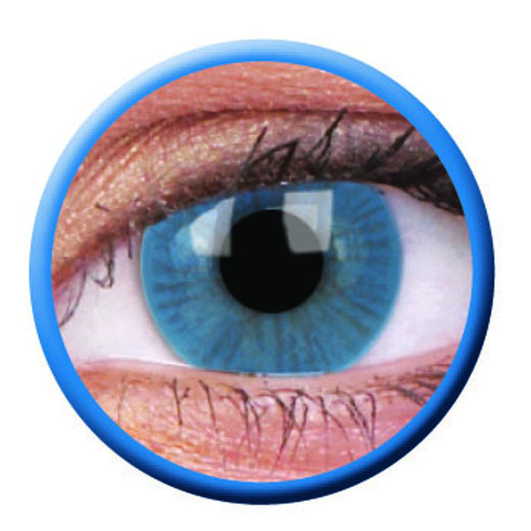 ColourVue Basic - Blue (2 šošovky trojmesačné) - nedioptrické