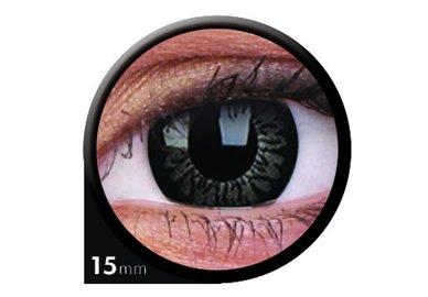 ColourVue Big Eyes - Awesome black (2 šošovky trojmesačné) - dioptrické - exp.04/2020