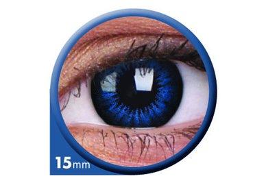 ColourVue Big Eyes - Cool Blue (2 šošovky trojmesačné) - dioptrické