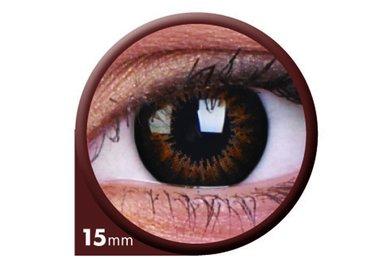 ColourVue Big Eyes - Sweet Honey (2 šošovky trojmesačné) - nedioptrické