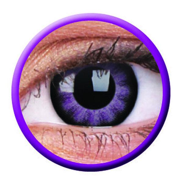 ColourVue Big Eyes - Ultra Violet (2 šošovky trojmesačné) - nedioptrické