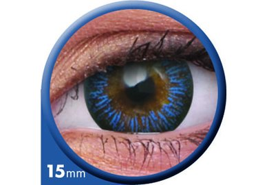 ColourVue Big Eyes - Enchanter Blue (2 šošovky trojmesačné) - diopt.-7,00 12/2020