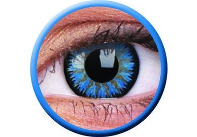 ColourVue Glamour - Aqua (2 šošovky trojmesačné) - dioptrické - poškodený obal