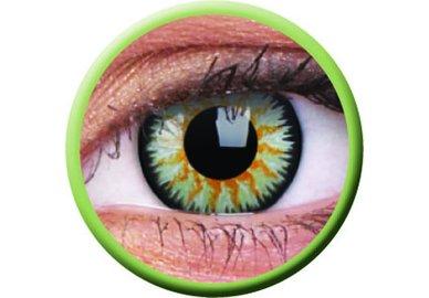 ColourVue Glamour - Green (2 šošovky trojmesačné) - nedioptrické