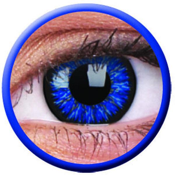 ColourVue Glamour - Blue (2 šošovky trojmesačné) - dioptrie-4,75 exp.06/2020