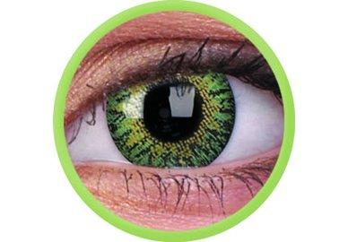 ColourVue Trublends - Green (2 šošovky mesačné) - nedioptrické