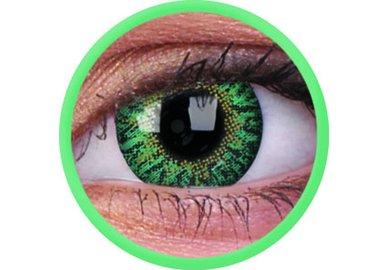 ColourVue One-Day nedioptrické (10ks, jednodenné) - Emerald
