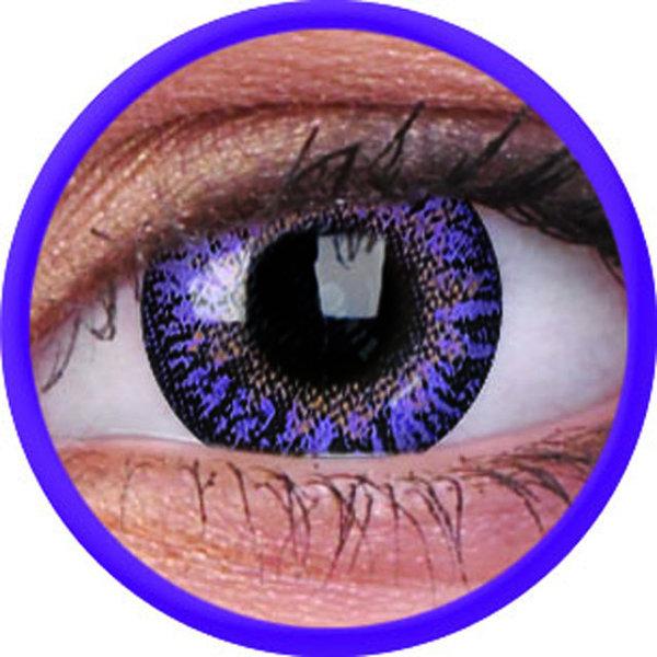ColourVue One-Day nedioptrické (10ks, jednodenné) - Violet