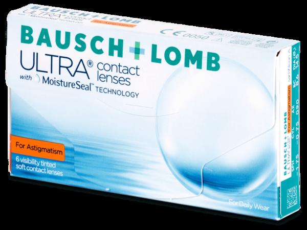 Bausch + Lomb ULTRA for Astigmatism (6 šošoviek)