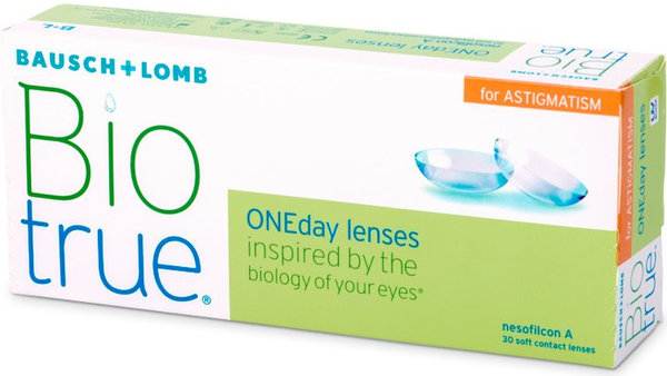 Biotrue ONEday for Astigmatism (30 šošoviek)
