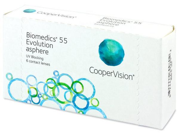 Biomedics 55 Evolution (6 šošoviek)