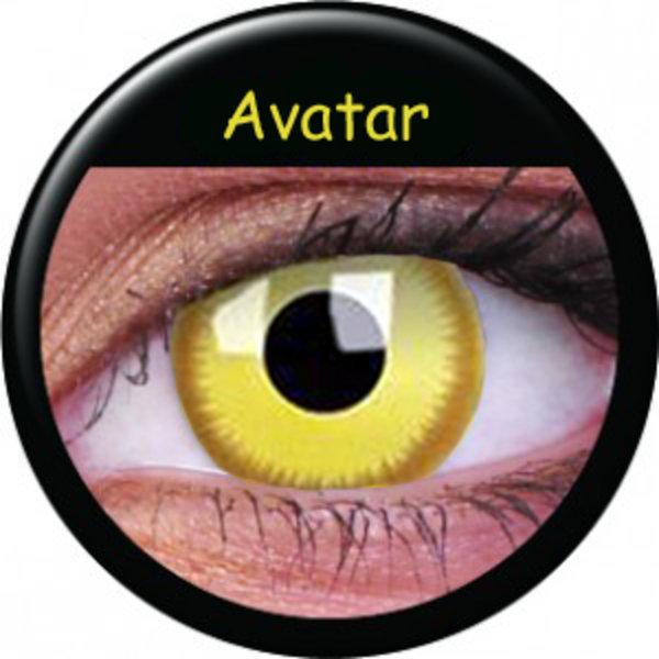 ColourVue Crazy šošovky - Avatar (2 ks trojmesačné) - dioptrické - exp.08/2020