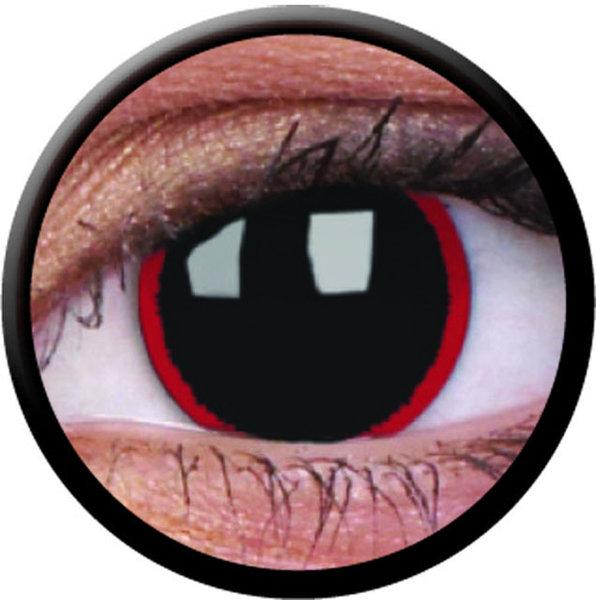 ColourVue Crazy šošovky - Hellraiser (2 ks ročné) - nedioptrické - exp.02/2021