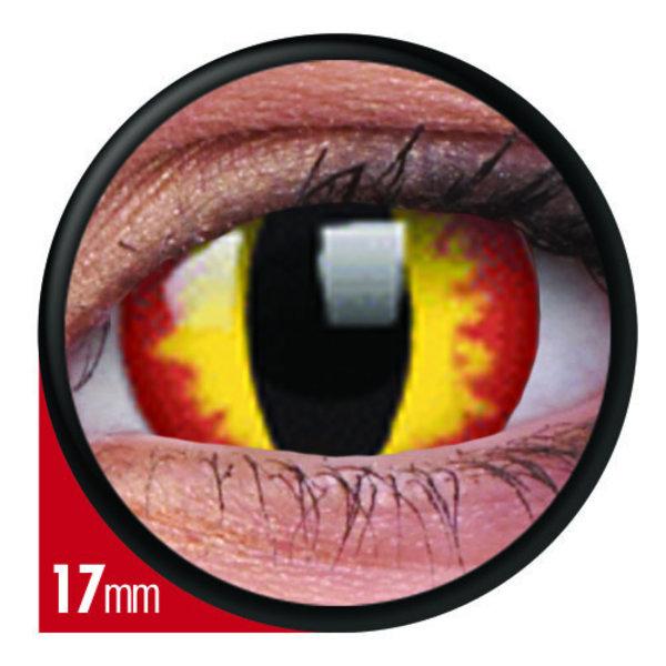 ColourVue Crazy šošovky 17 mm - Smaug´s Eyes (2 ks ročné) - nedioptrické - exp.02/2021