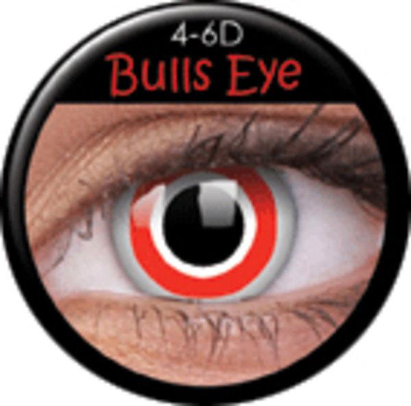 ColourVue Crazy šošovky - Bulls Eye (2 ks ročné) - nedioptrické