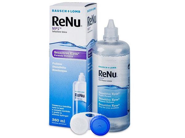 ReNu MPS Sensitive Eyes 360 ml s púzdrom - poškodený obal