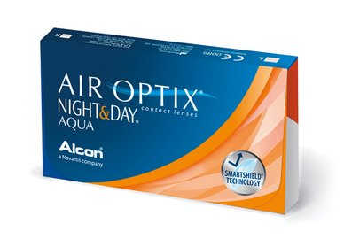Air Optix Night & Day Aqua (6 šošoviek) - exp.2017