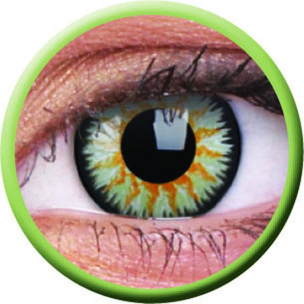ColourVue Glamour - Green (2 šošovky trojmesačné) - dioptricke exp.02/21