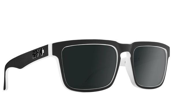 Slnečné okuliare SPY HELM2 Whitewall Black - polarizačné