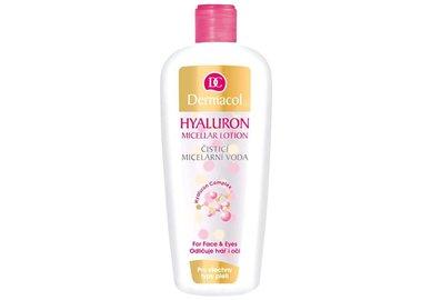 Dermacol Sensitive - čistiaca micelárna voda s kyselinou hyalurónovou 400 ml