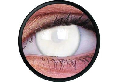 ColourVue Crazy šošovky - Blind White (2 ks ročné) - nedioptrické - nie je cez ne vidieť