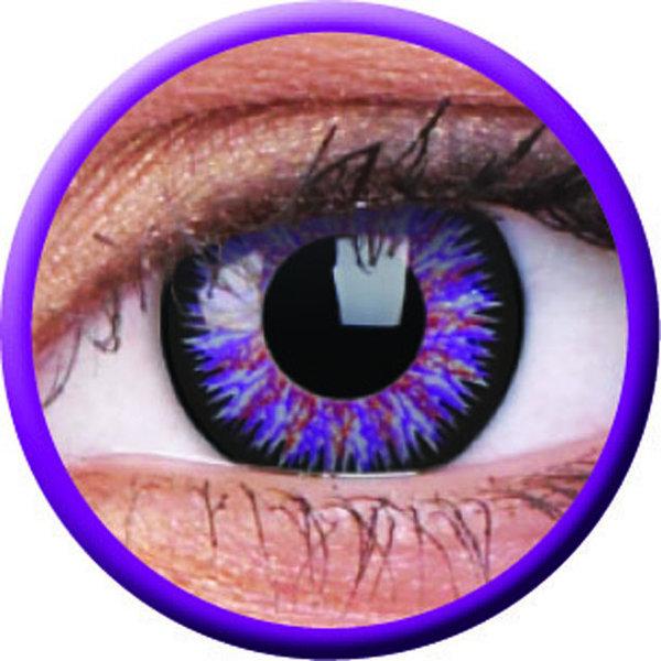 ColourVue Glamour - Violet (2 šošovky trojmesačné) - dioptrické - exp.09/2021