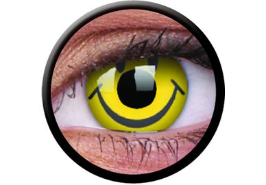 ColourVue Crazy šošovky - Smiley (2 ks trojmesačné) - nedioptrické-exp.09/21