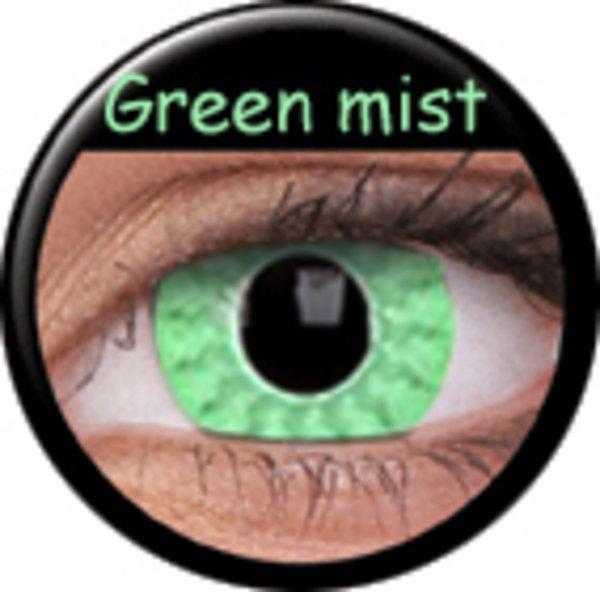 Phantasee Crazy šošovky - Green Mist (2 ks ročné) - nedioptrické - exp.04/2020