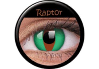 ColourVue Crazy šošovky - Raptor (2 ks ročné) - nedioptrické