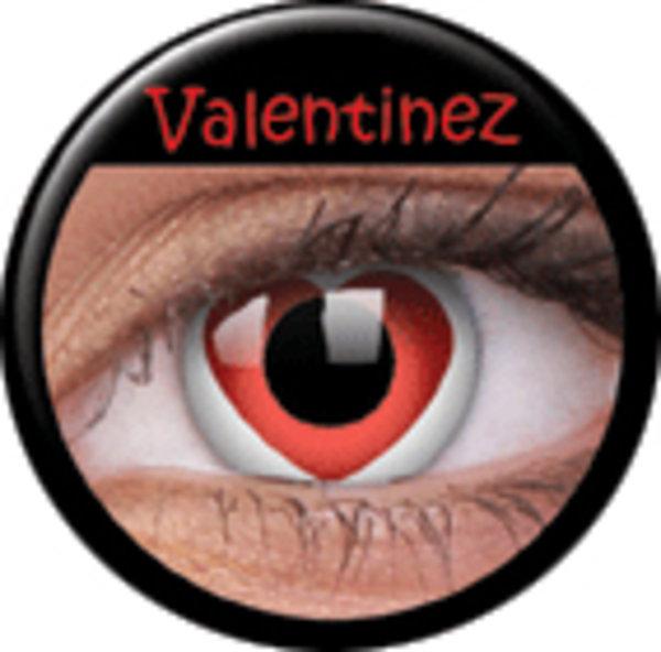ColourVue Crazy šošovky - Valentinez (2 ks ročné) - nedioptrické - exp.12/2019