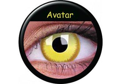 ColourVue Crazy šošovky - Avatar (2 ks trojmesačné) - dioptrické
