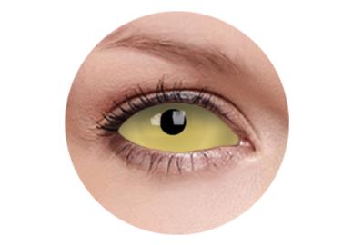 ColourVue Crazy šošovky UV Sklerálne - Amazo (2 ks polročné) - nedioptrické