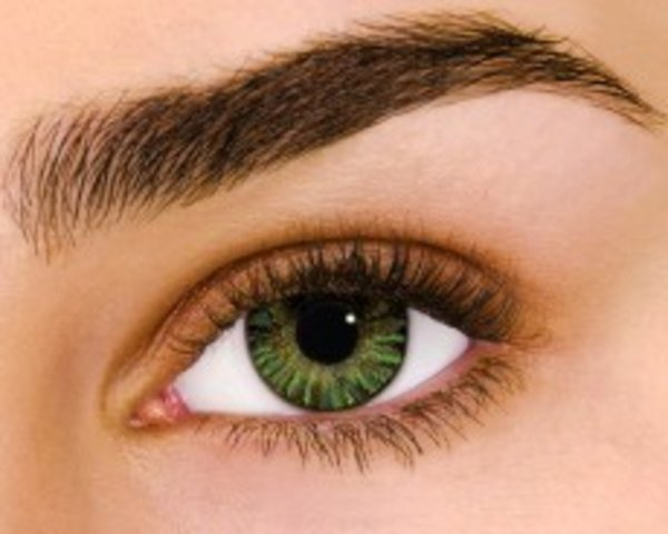 Air Optix Colors - Green (2 šošovky mesačné) - nedioptrické