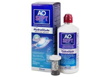 AOSEPT Plus HydraGlyde 360 ml s púzdrom - exp.08/2021