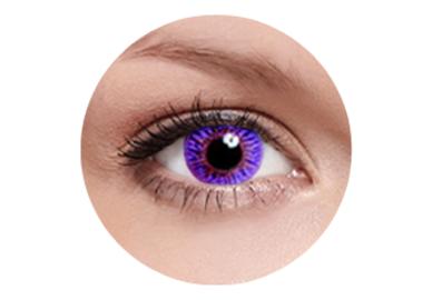 FreshKon - Romantic Violet (2 šošovky mesačné) - dioptrické