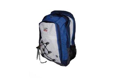 Športový batoh modro-biely Loap