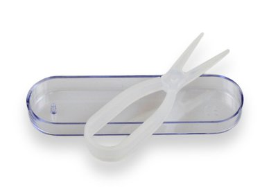 Klieštičky na kontaktné šošovky - Biele