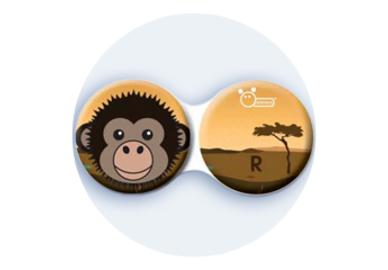 Antibakteriálne puzdro klasické - Afrika - Opica