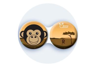 Antibakteriálne puzdro klasické - Afrika - Šimpanz