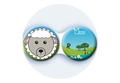 Antibakteriálne puzdro klasické - Farma - Ovca