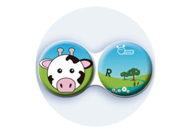 Antibakteriálne puzdro klasické - Farma - Krava