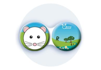 Antibakteriálne puzdro klasické - Farma - Myška