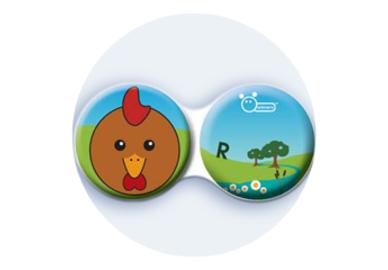Antibakteriálne puzdro klasické - Farma - Sliepka