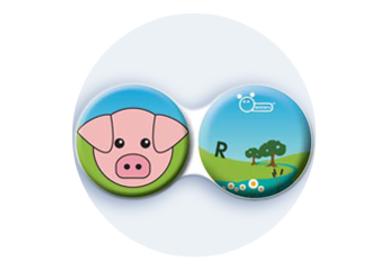 Antibakteriálne puzdro klasické - Farma - Prasa