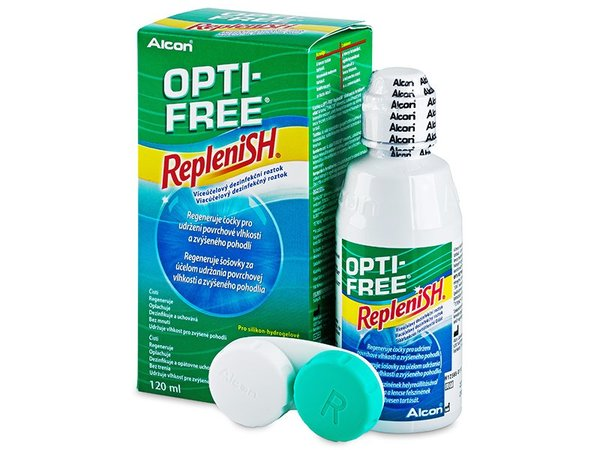 Opti-Free RepleniSH 120 ml s púzdrom