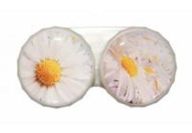 Klasické puzdro motív kvetín - Margarétka
