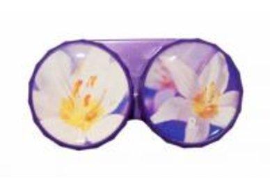 Klasické puzdro motív kvetín - Ocun
