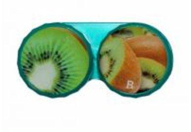 Klasické puzdro motív ovocia - Kiwi