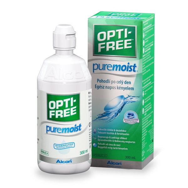 OPTI-FREE PureMoist 300ml s púzdrom